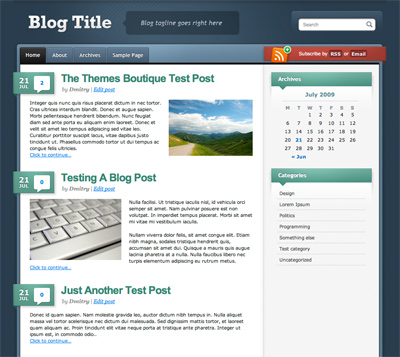 Celadon theme for WordPress