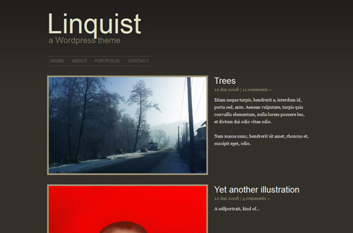 Linquist WordPress theme