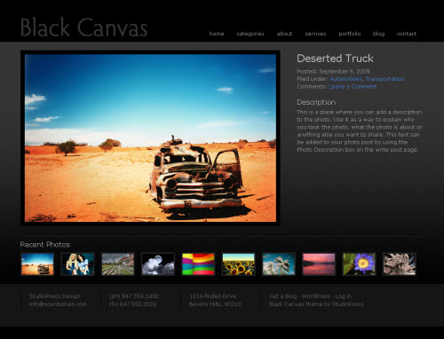 black-canvas-3-theme