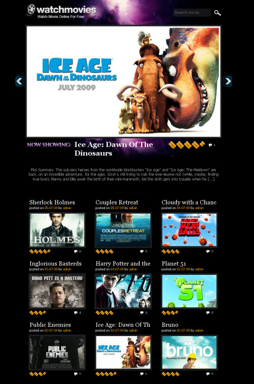MoviesitePress - Movie Site WordPress Theme