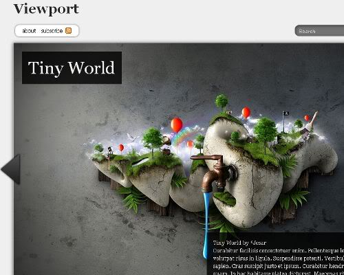 view-port-wordpress-theme