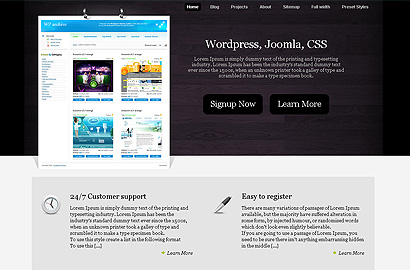Home Office business wordpress theme