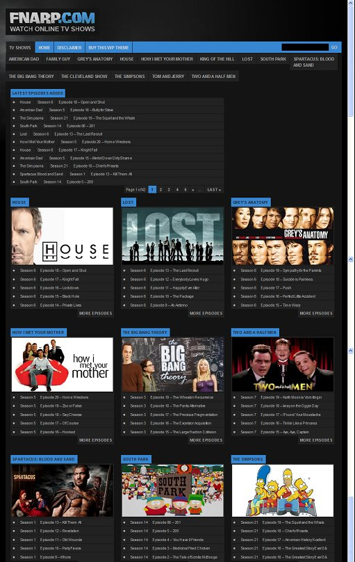 TVAction WordPress Theme