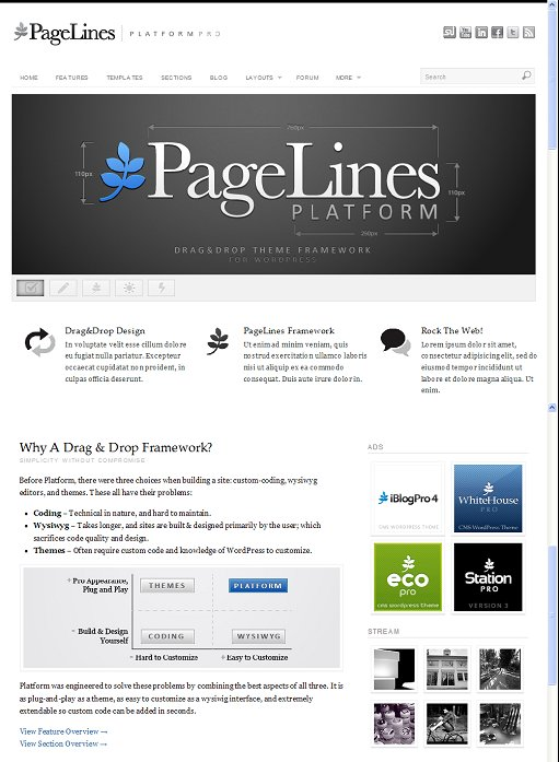 PageLines Platform Pro Premium WordPress Theme