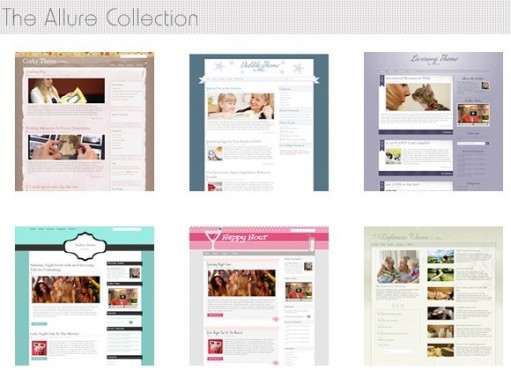 Allure Themes premium women wordpress theme