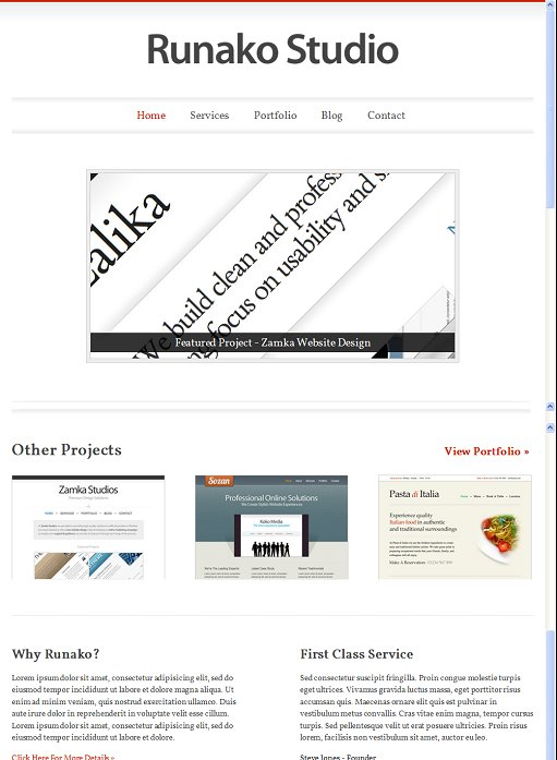 Voosh Themes Runako WordPress Theme