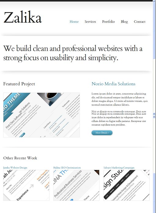 Voosh Themes Zalika WordPress Theme