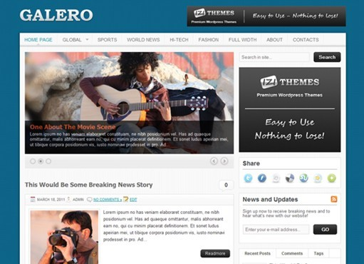 IziThemes Galero WordPress Theme