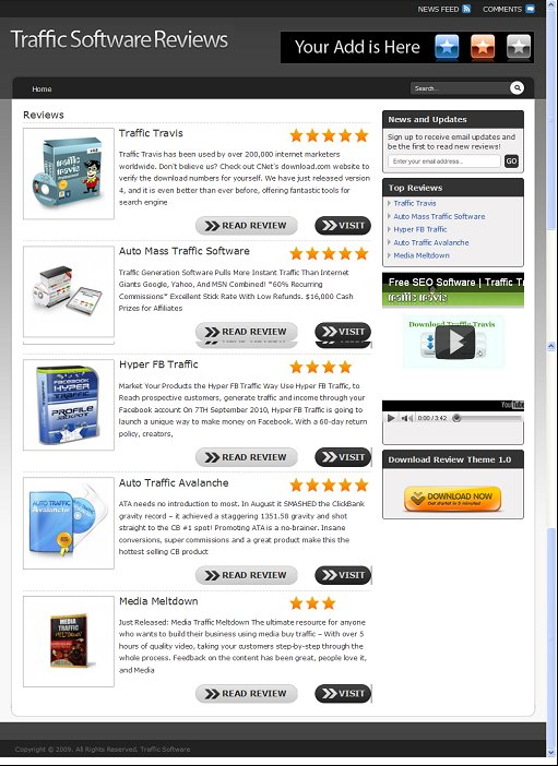 Review Theme 1.0 - Make Product Reviews From Amazon or Clickbank ...