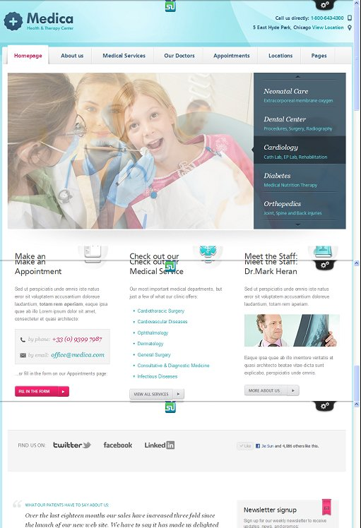 ThemeFuse Medica WordPress Medical Theme