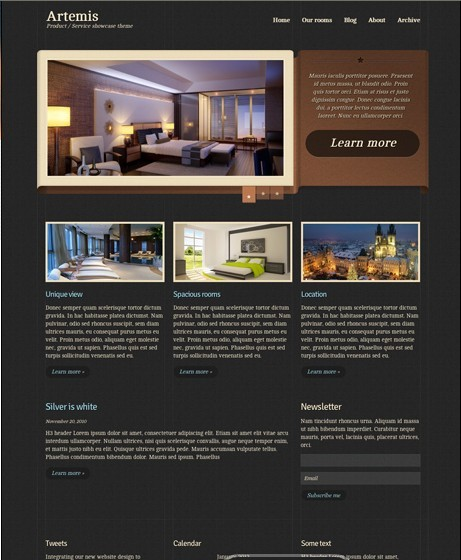 CSSIgniter Artemis WordPress Theme