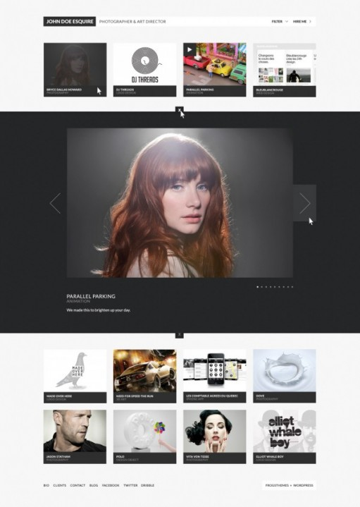 FrogsThemes Creative Grid Pro WordPress Theme