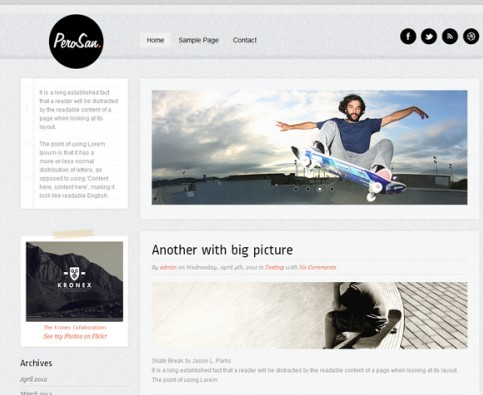 Theme Furnace Perosan WordPress Theme