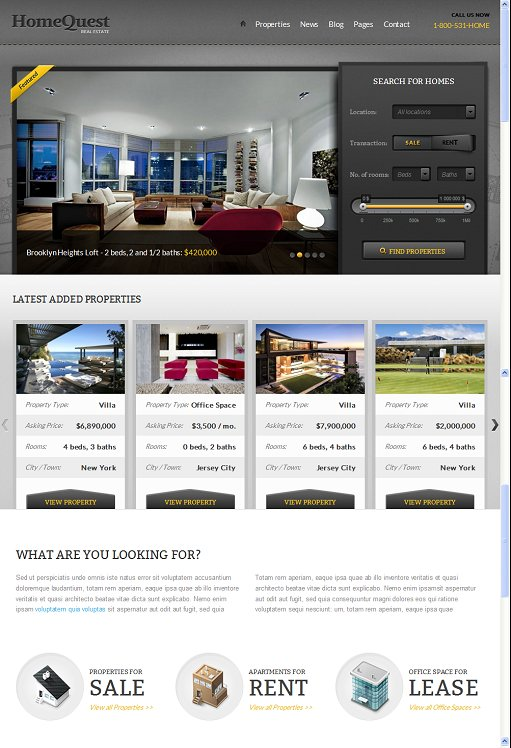 ThemeFuse HomeQuest WordPress Theme