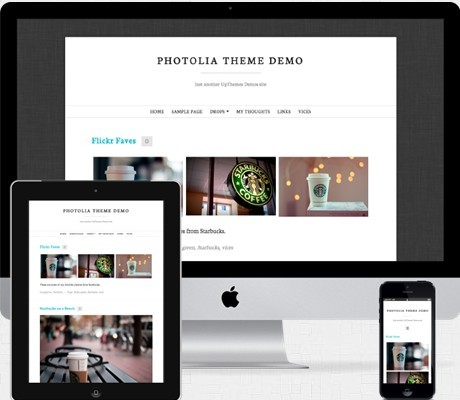 UPThemes Photolia WordPress Theme