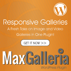 MaxGalleria - Responsive Image and Video Gallery Plugin for WordPress