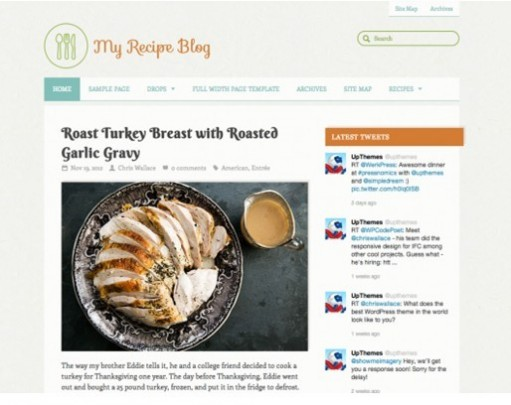 UPThemes Yumblog WordPress Theme