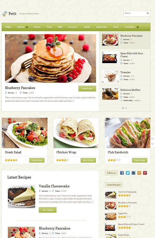 Petit WordPress Theme : WPZOOM