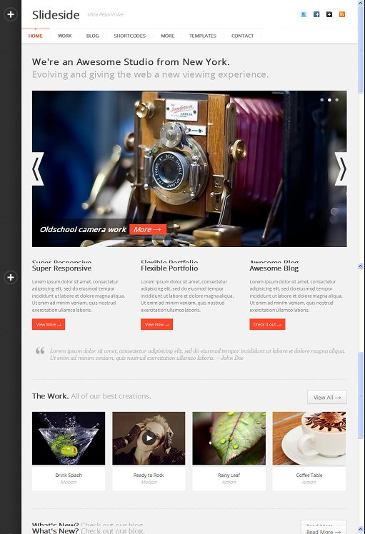 WPBandit Slideside WordPress Theme