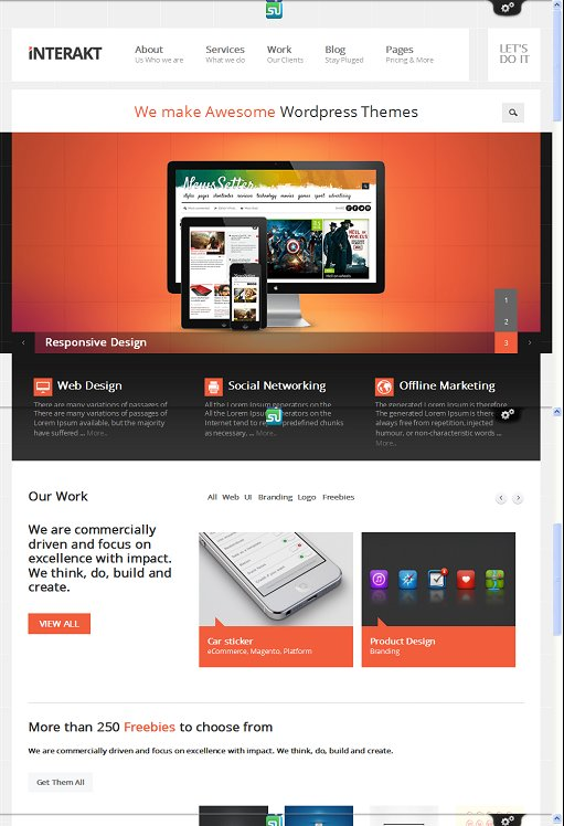 ThemeFuse Interakt WordPress Theme