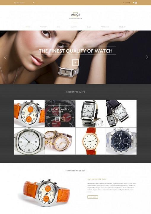 Tokokoo Arloji WooCommerce Theme For WordPress