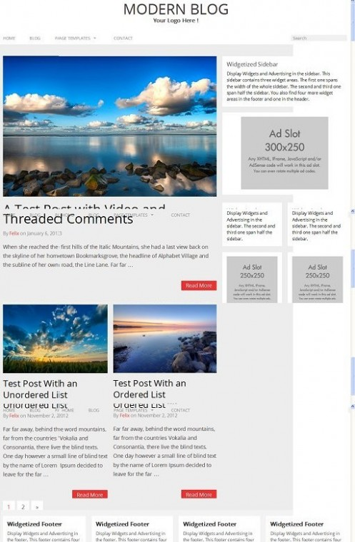 RichWP Modern Blog WordPress Responsive Theme