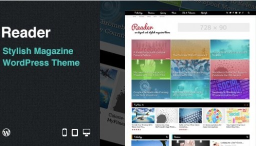 GhostPool Reader WordPress Magazine Theme