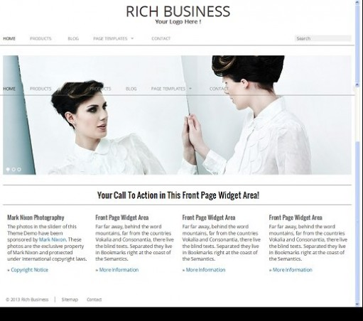 RichWP Rich Business WordPress Theme