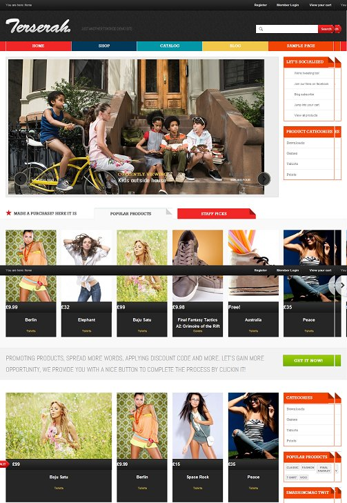 Tokokoo Terserah WooCommerce WordPress Theme