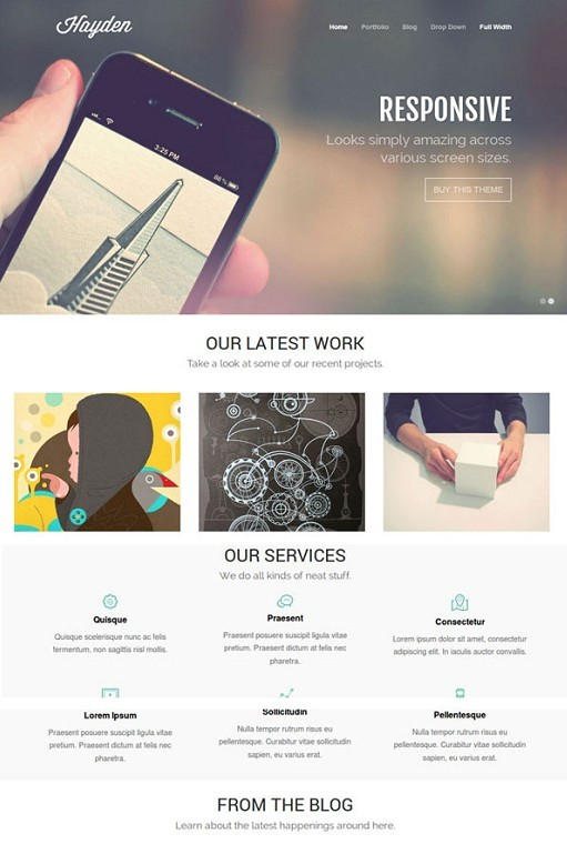 Theme Trust Hayden WordPress Theme