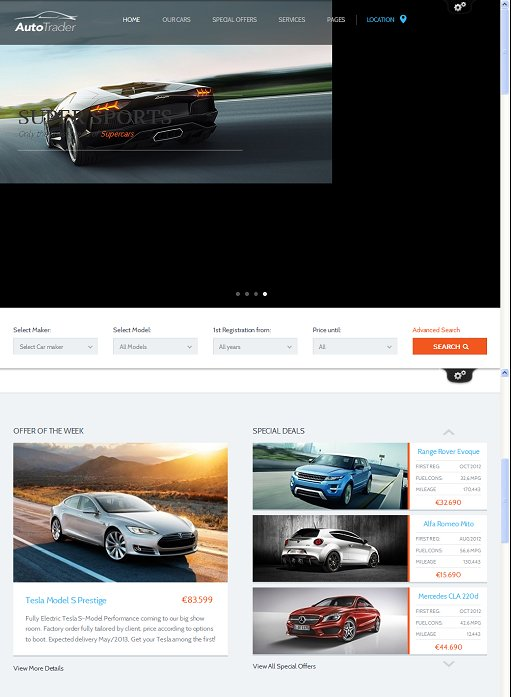 ThemeFuse AutoTrader WordPress Theme