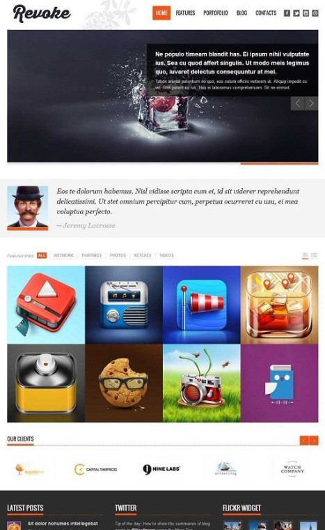 TeslaThemes Revoke WordPress Theme