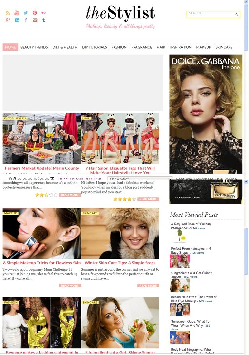Magazine3 TheStylist WordPress Theme