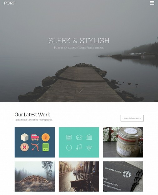 Theme Trust Port WordPress Theme