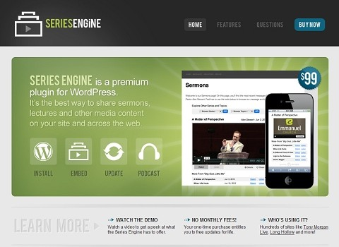Series Engine Review - Best Sermon Plugin for WordPress