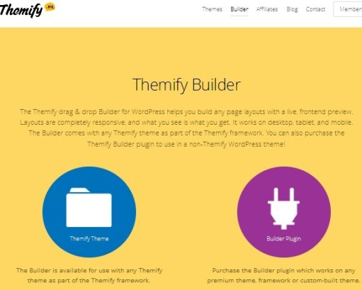 Themify Builder - Drag & Drop WordPress Theme