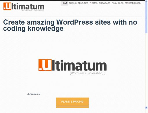 Ultimatum Drag & Drop Page Builder