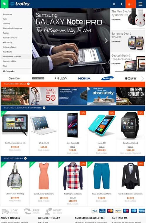 ColorLabs Trolley WordPress E-Commerce Theme