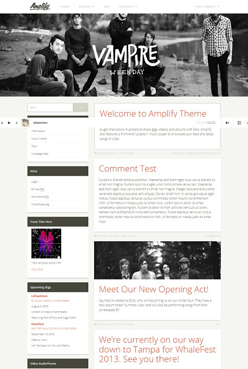 UPThemes Amplify WordPress Theme