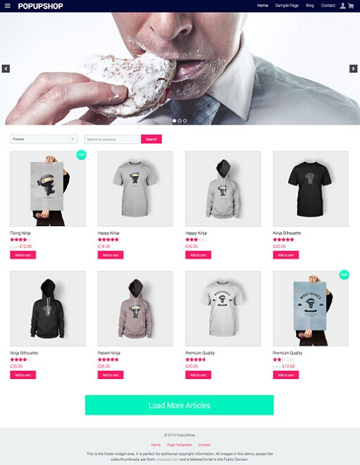 RichWP Pop Up Shop ECommerce WordPress Theme