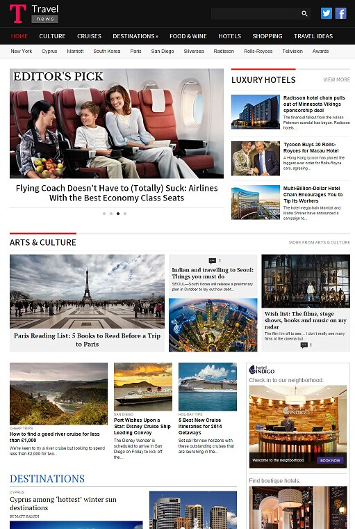 Magazine3 TravelNews - Travel WordPress Magazine Theme
