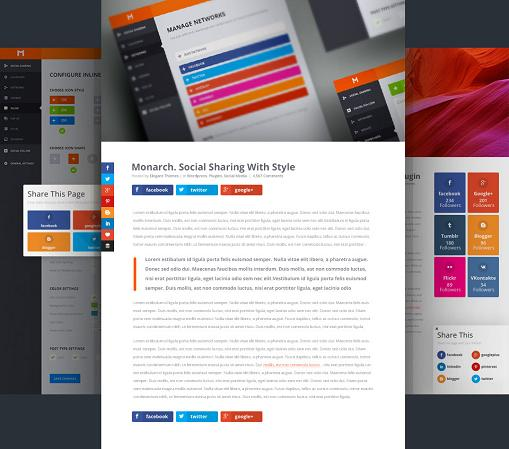 Best Social Sharing Plugin For WordPress - Monarch
