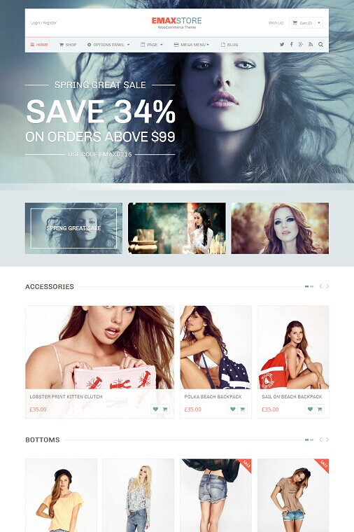 MyThemeShop eMaxStore Multipurpose eCommerce WordPress Theme