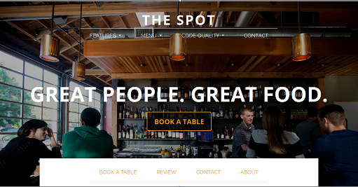 The Spot – New Restaurant WordPress Theme