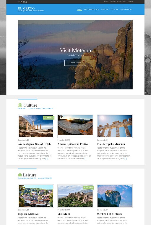 CSSIgniter El Greco WordPress Theme