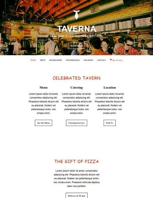 BizzThemes Taverna WordPress Theme