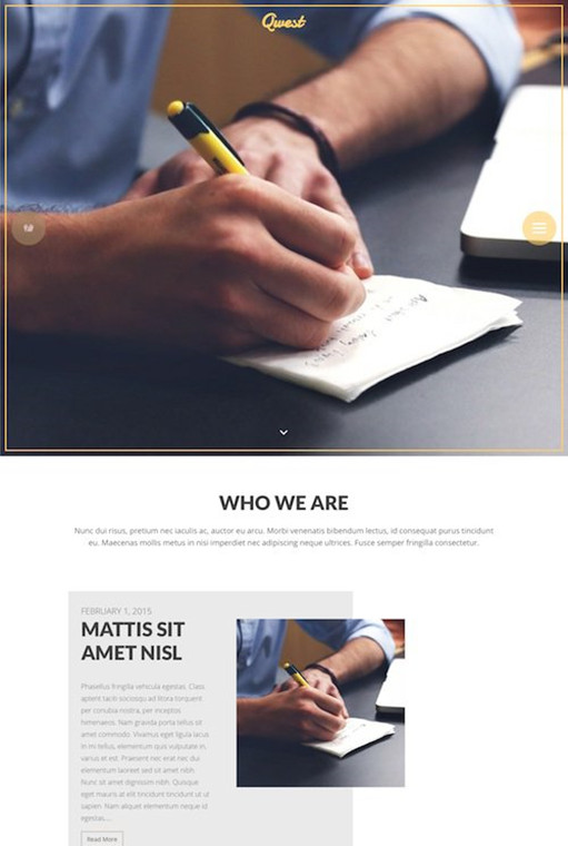 Viva Themes Qwest WordPress Theme