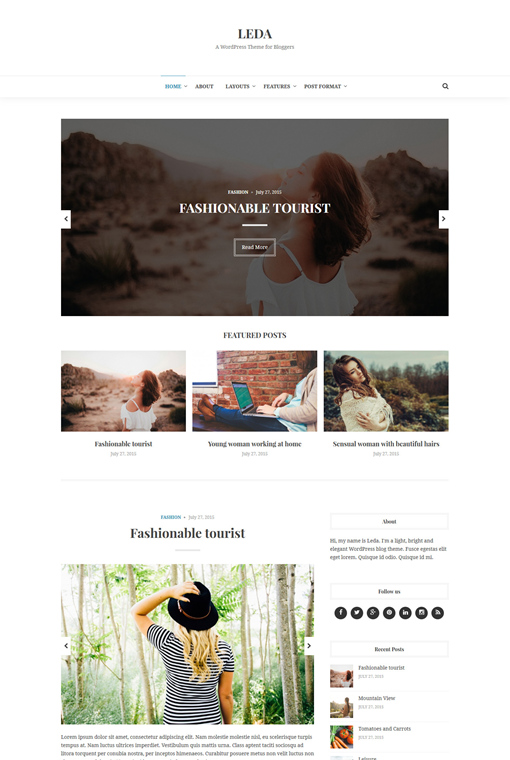 Theme Junkie Leda Magazine WordPress Theme