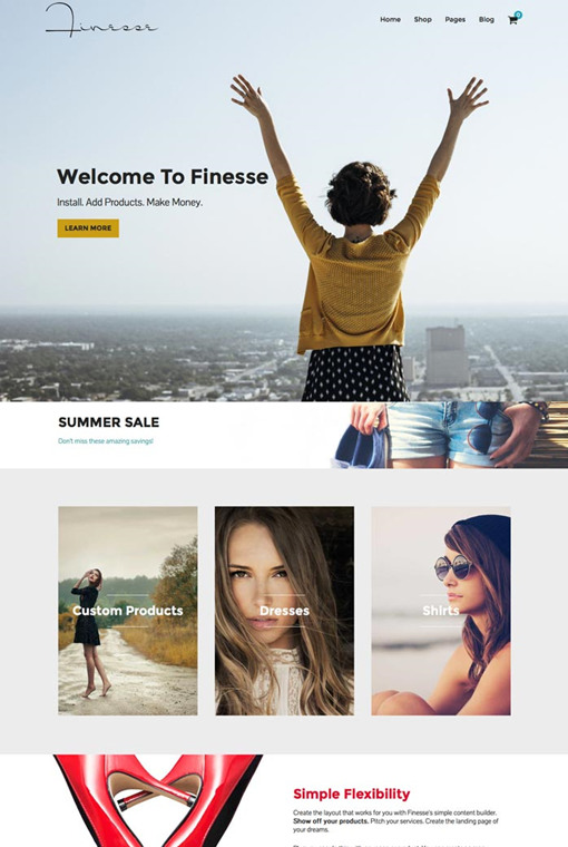 Organized Themes Finesse WordPress Theme